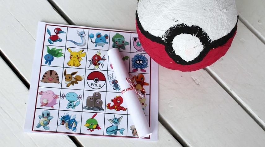 Pokémon-bingo
