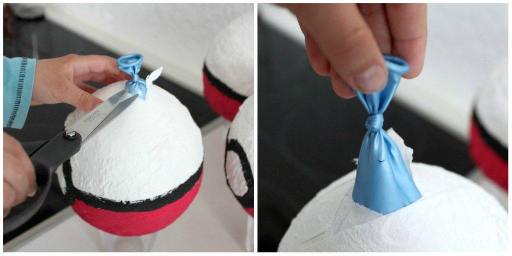 Pokémon-synttärit / pallot vessapaperista
