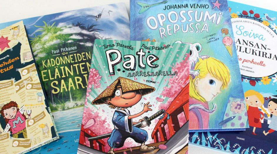 Lastenkirja-arvonta / Tammi ja WSOY