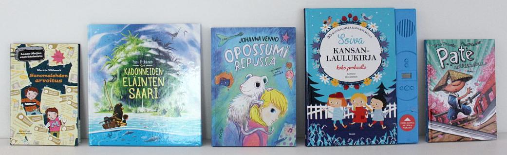 Arvonta / uusia lastenkirjoja