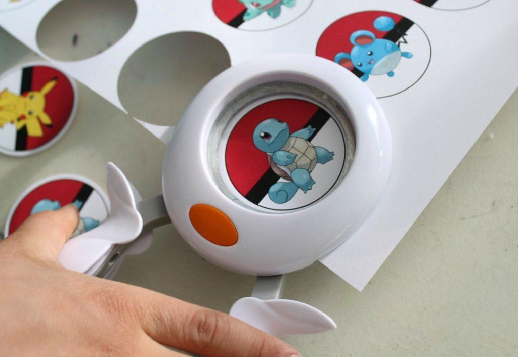 Pokemon-kuvia kuvioleikkurilla