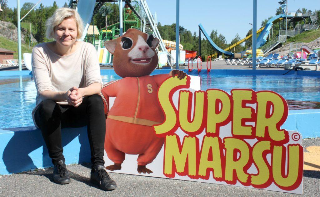 Supermarsu-elokuva ja Paula Noronen