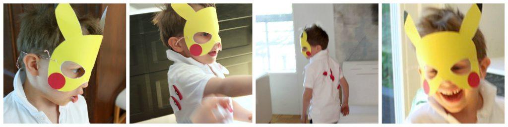 Pokemon-synttärit / Pikachu-leikki