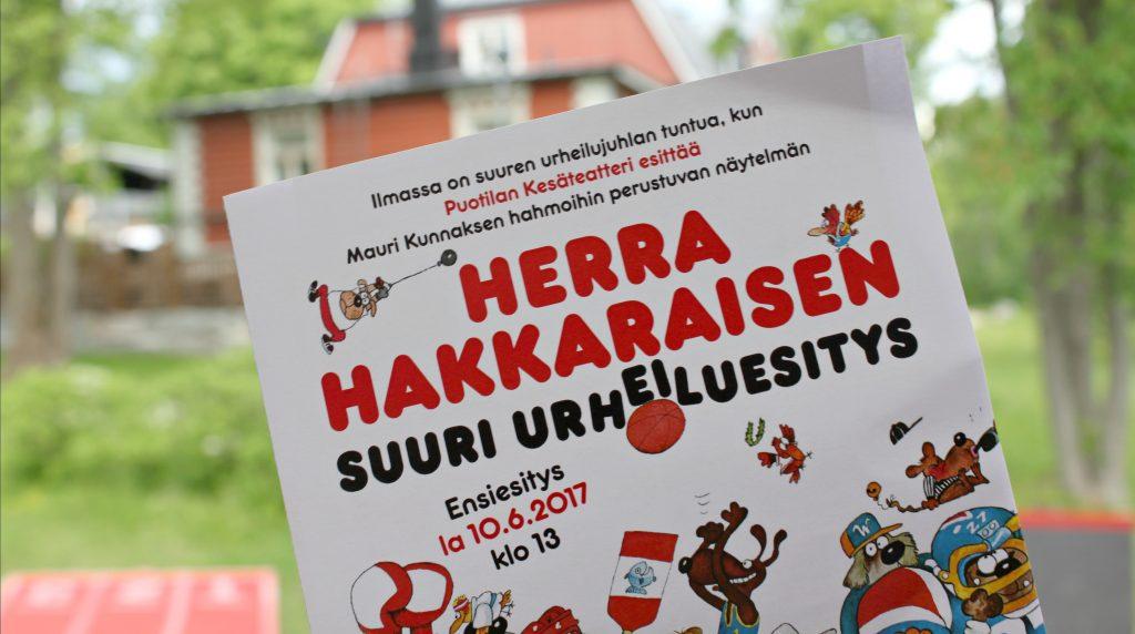 Puotilan Kesäteatteri / Herra Hakkaraisen suuri urheiluesitys