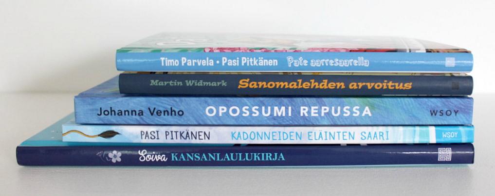 Lastenkirjoja / arvonta