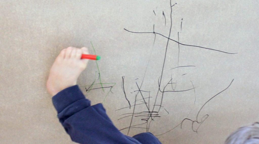 Piirtäminen ilman käsiä