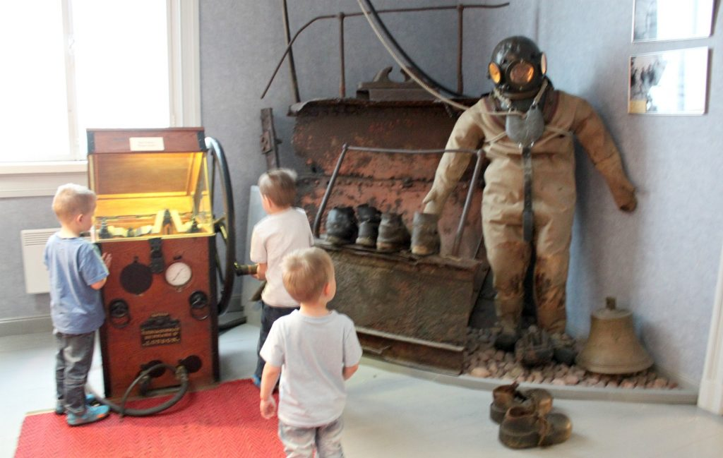 Rauman merimuseo / kaskisukeltaja