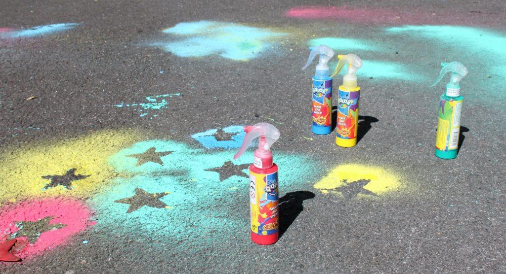 Katuliidut / lasten taidetta