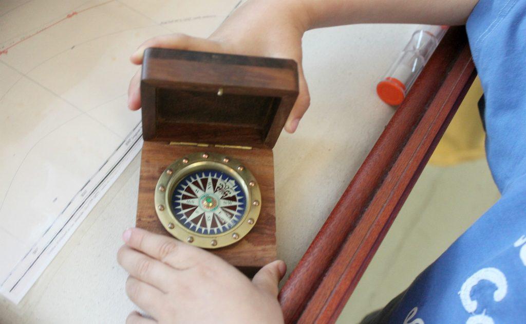 Rauman merimuseo / kompassi