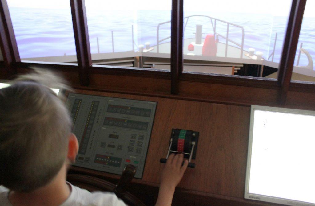 Rauman merimuseo / navigointisimulaattori Jenny