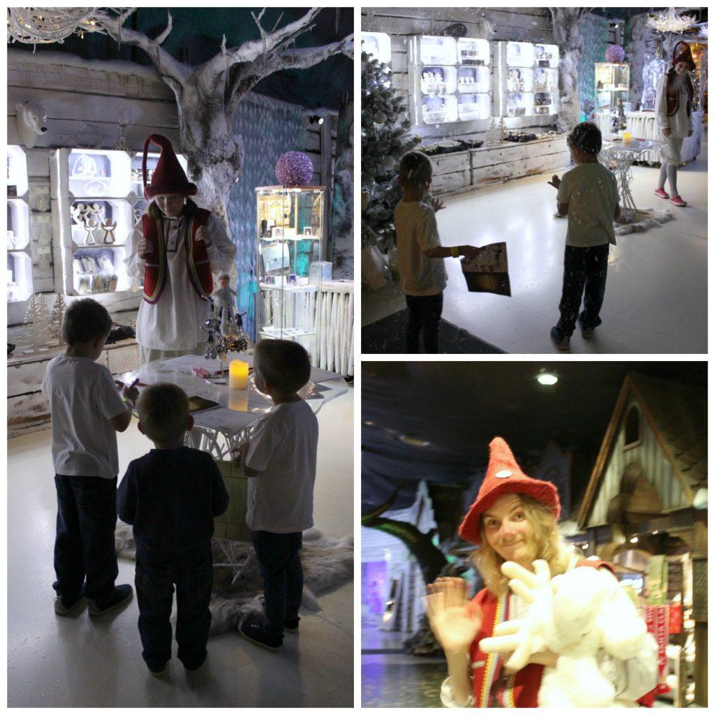 Lasten kanssa joulumaassa