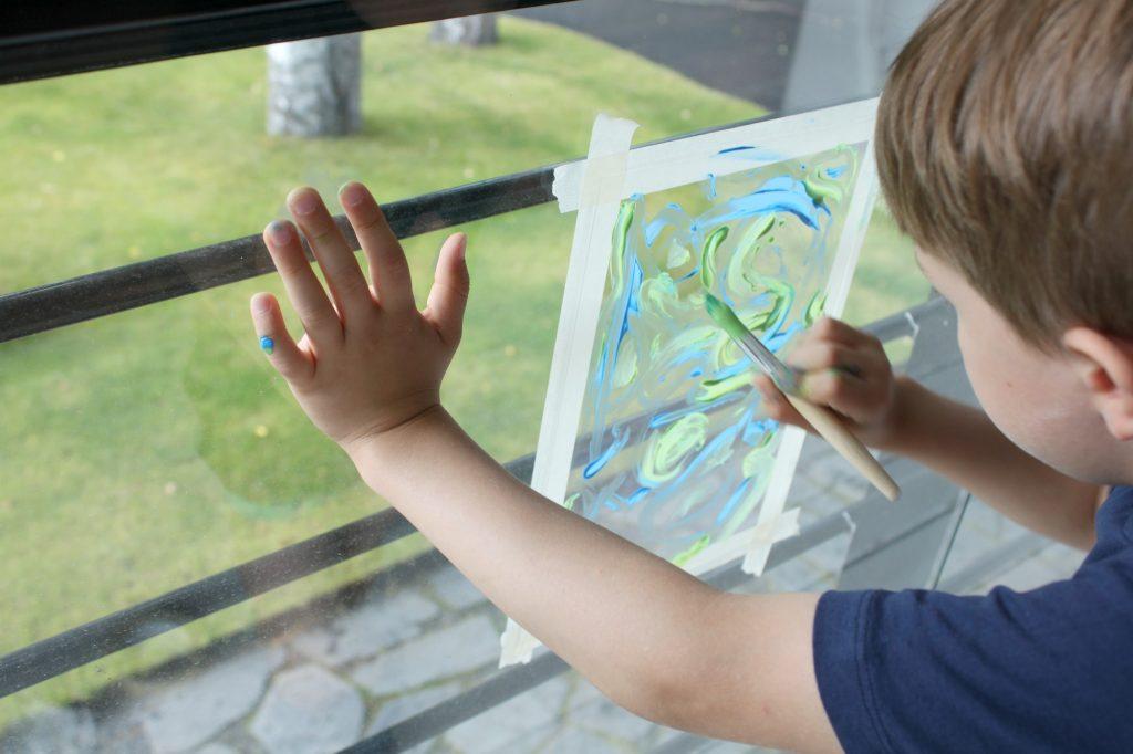 PC-levy ja lasten taide