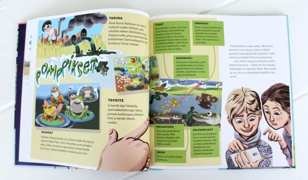 Elina Lappalainen, Jussi Kaakinen: Nyt pelittää! Miten pelejä tehdään? (Tammi 2017)