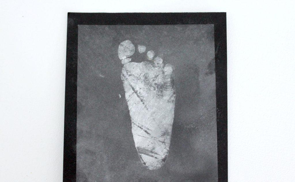 Lapsen jalanjälki