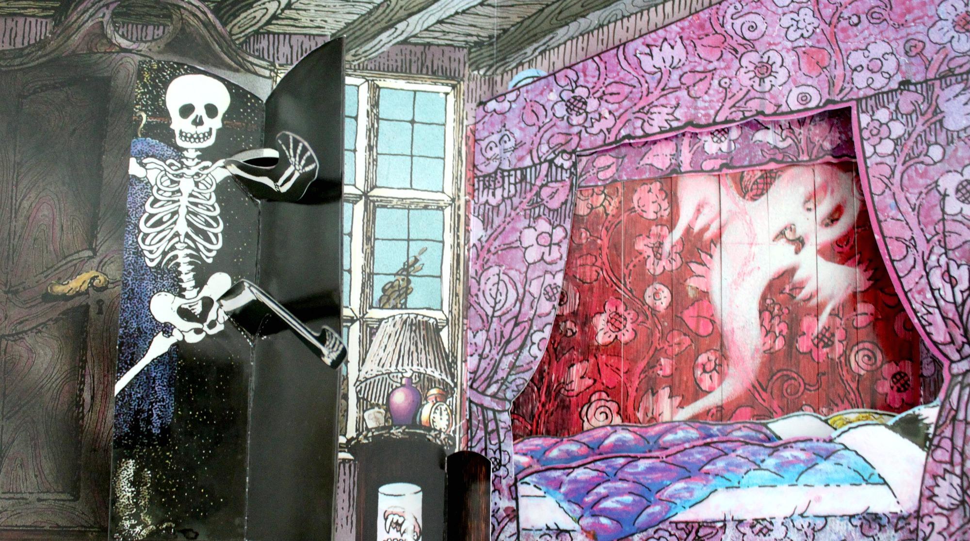 Kummitustalo-kirja
