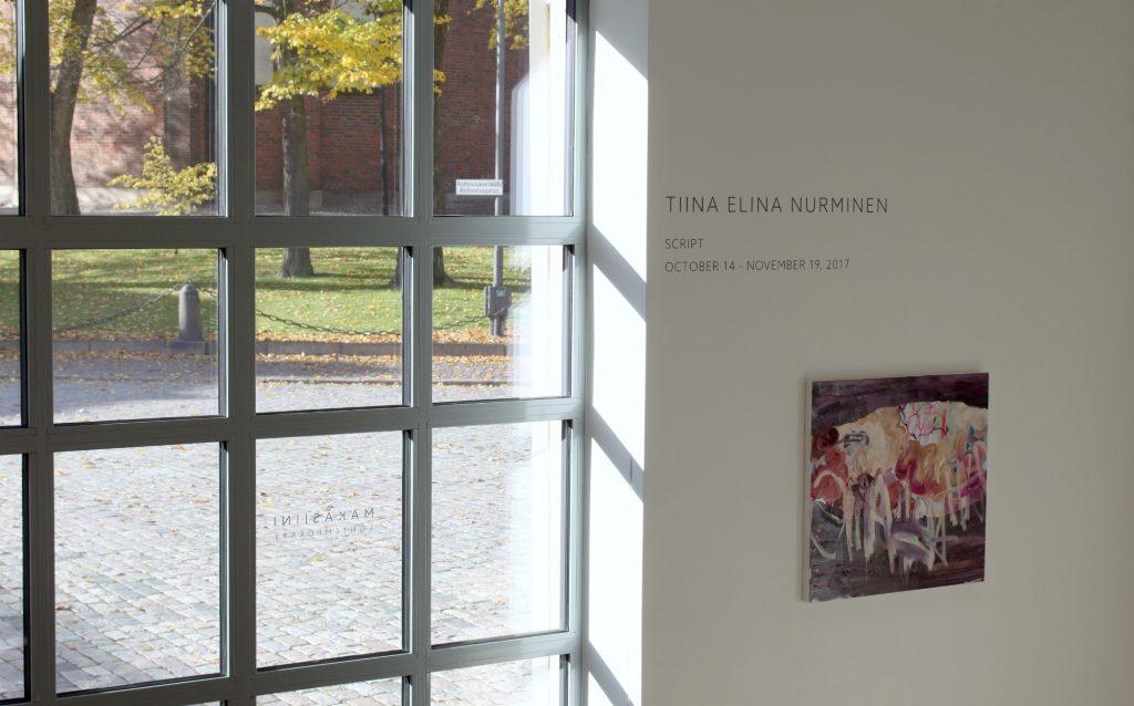 Makasiini Contemporary / Tiina Elina Nurminen / galleriakierros