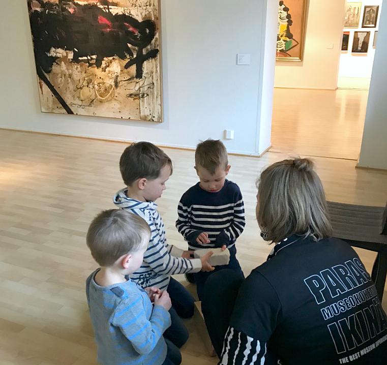 Aboa Vetus & Ars Nova / Lasten taidekierros
