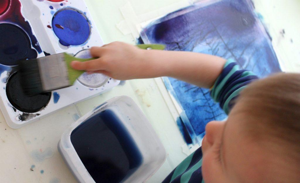 Vesivärimaalausta