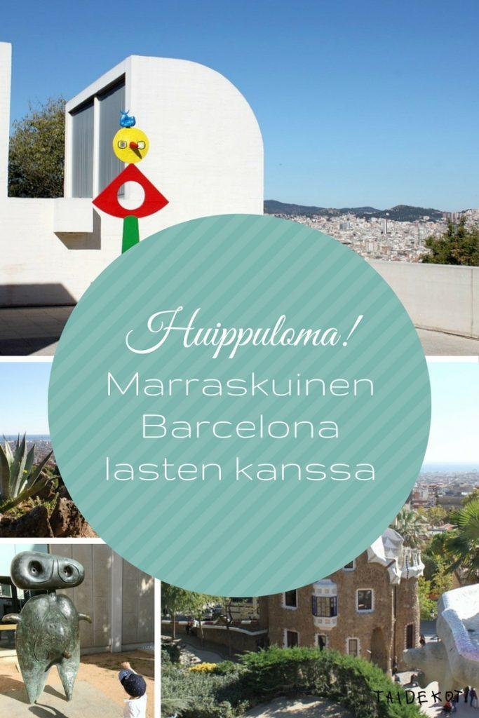 Marraskuinen Barcelona