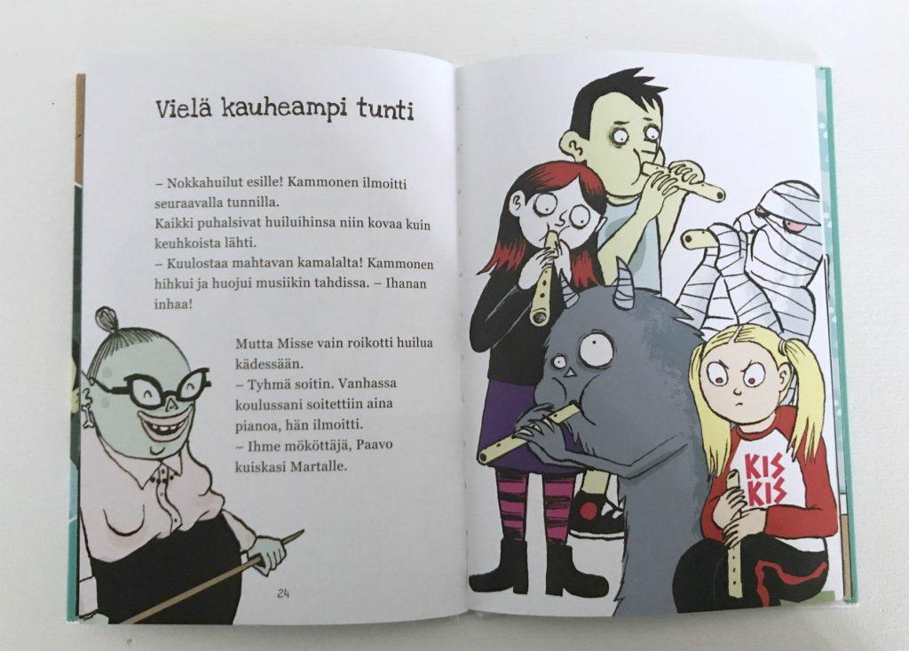 Paula Noronen, Kati Närhi (kuv.): Yökoulu ja kauheat naapurit