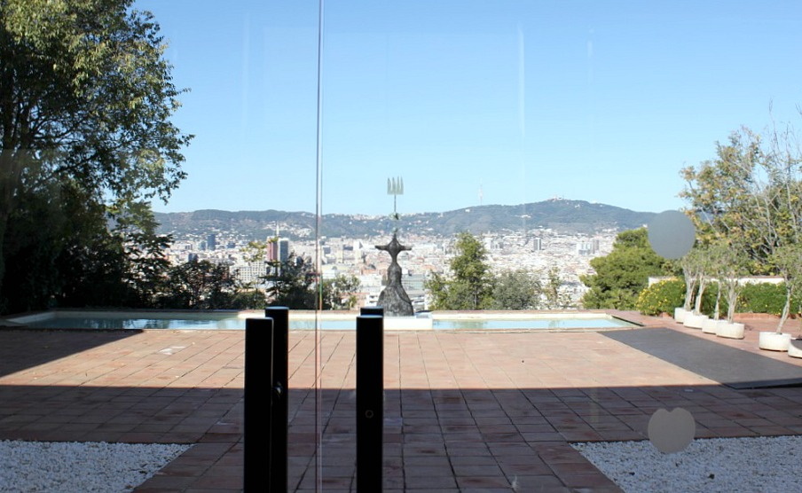 Joan Miró -museo Barcelonassa