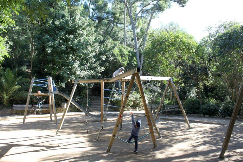 Park Güell / leikkipaikka / Barcelona