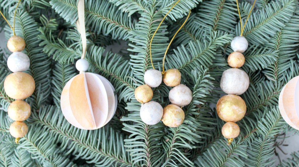 Jouluaskartelua 3-vuotiaan kanssa / DIY-joulukoristeet