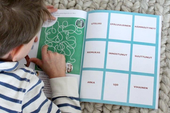 Puuhakirja lapselle / Mullin mallin Molli