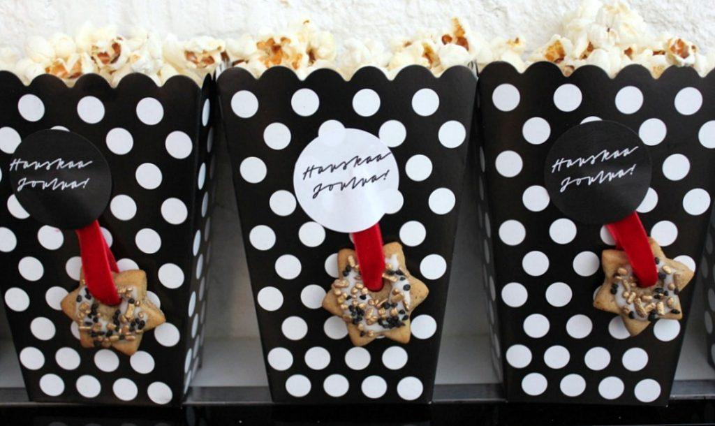 Pikkujoulut / popcornia