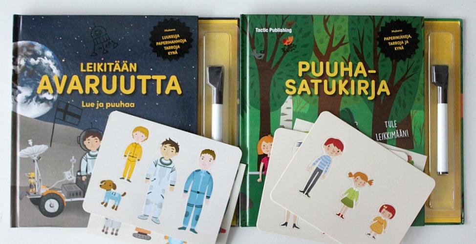 Puuhakirja lapselle / Leikitään avaruutta ja Puuhasatukirja