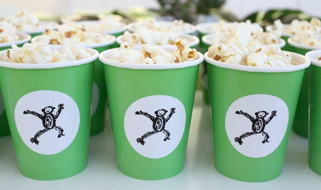 Viidakkosynttärit / popcornkipot