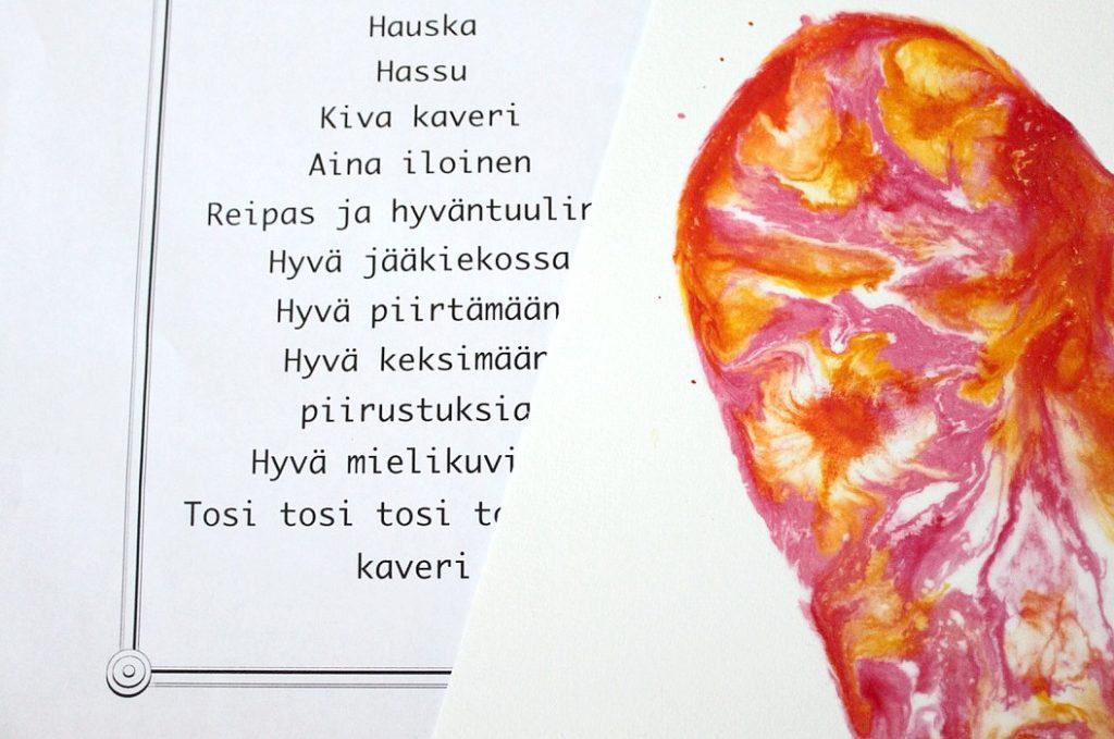Ystävänpäivä / kehuja