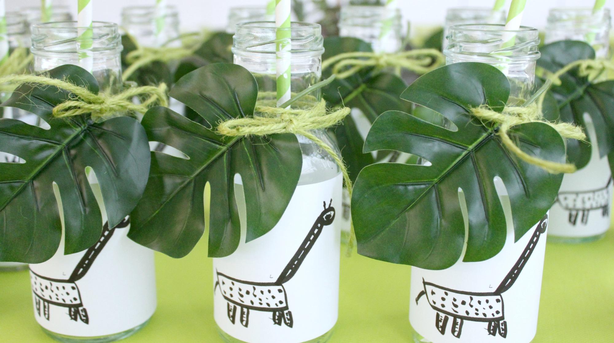 Viidakkosynttärit / kirahvipullot