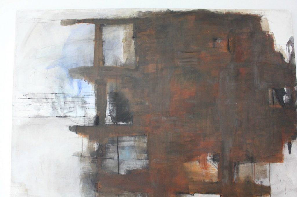Taidetta kotiin / Marjatta Holma: Rakenteilla