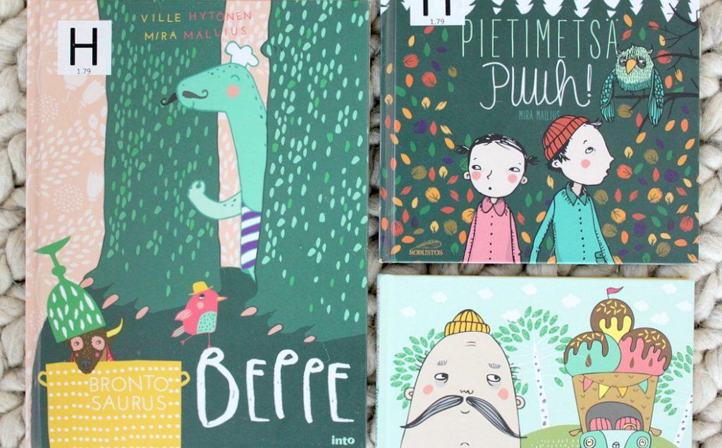 Ville Hytösen ja Mira Malliuksen lastenkirjoja
