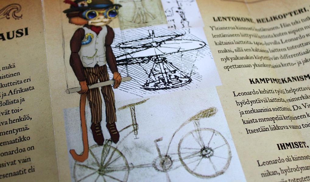 Nukketeatteri Sampo / Leonardon lentävät apinat
