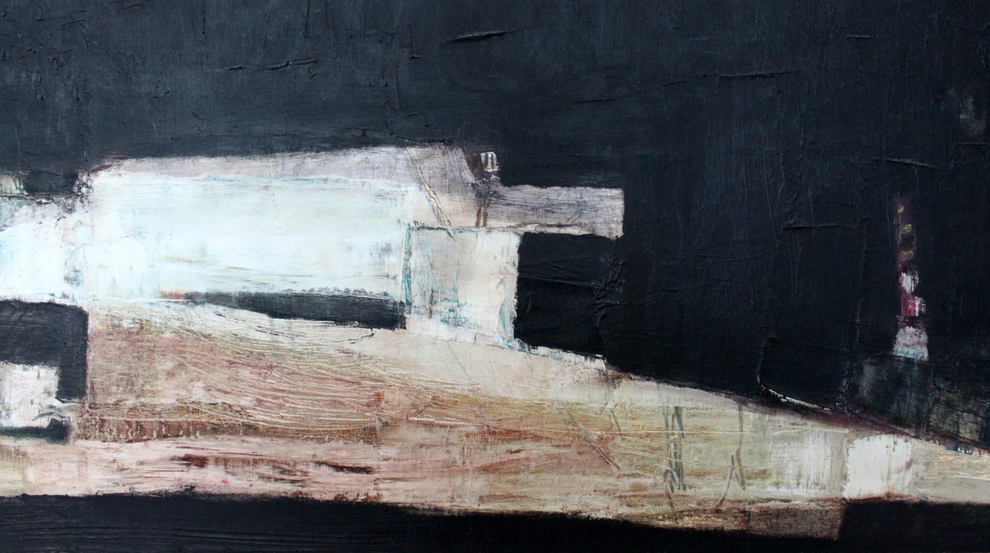 Taidetta kotiin / yksityiskohta Marianne Niemisen maalauksesta