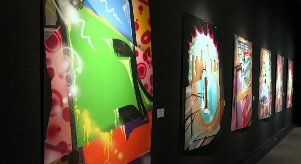 Rakkaudesta vapauteen / Oulun taidemuseo / Graffiti