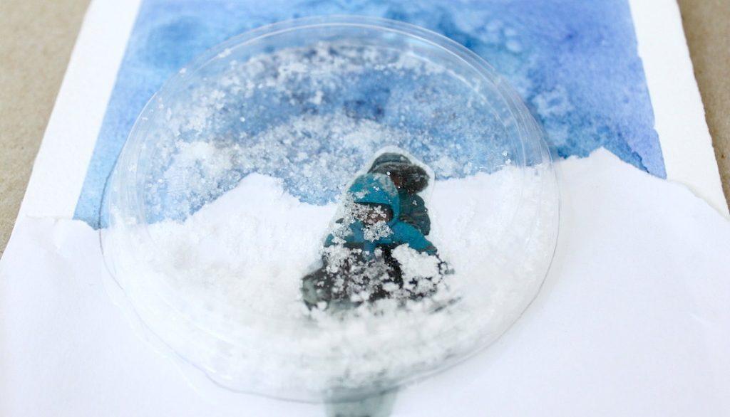 Talviaskartelu / lumisadeympyrä