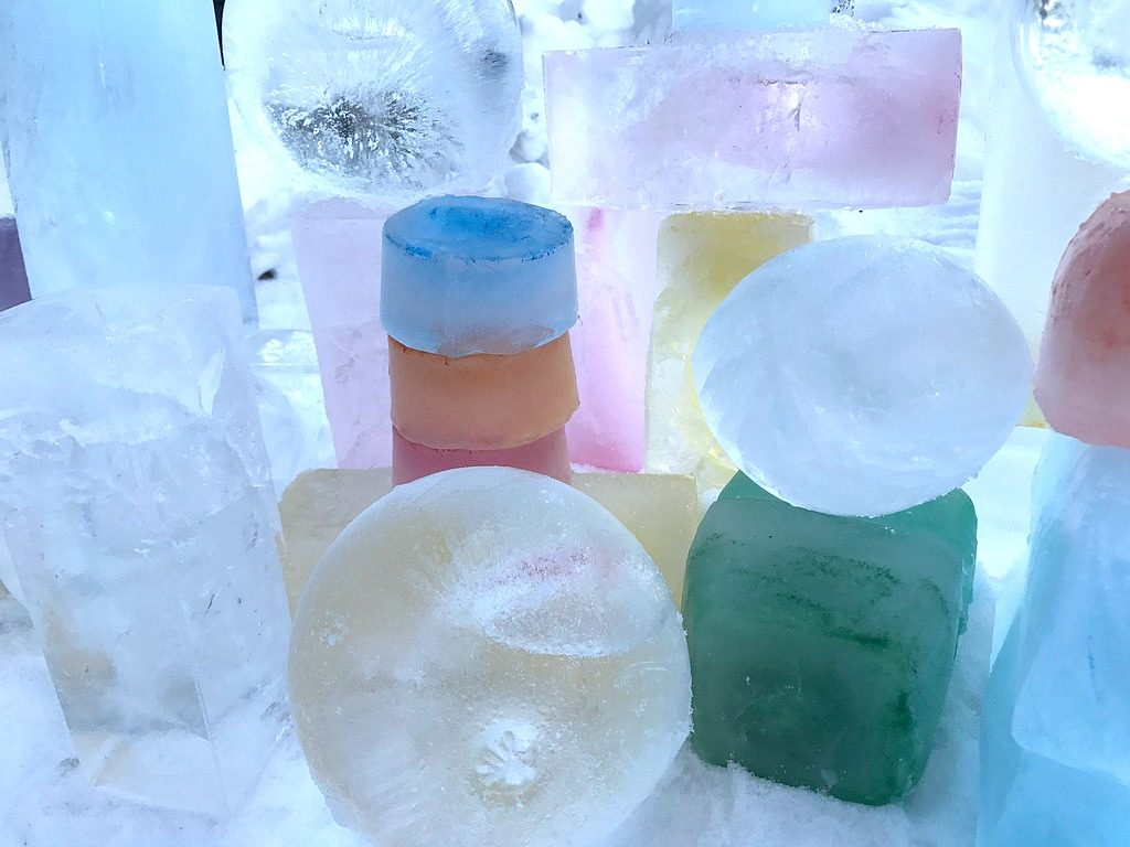 Jäätaidetta / jääveistos