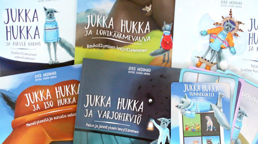 Avril McDonald: Jukka Hukka -sarja (PS-kustannus 2018)