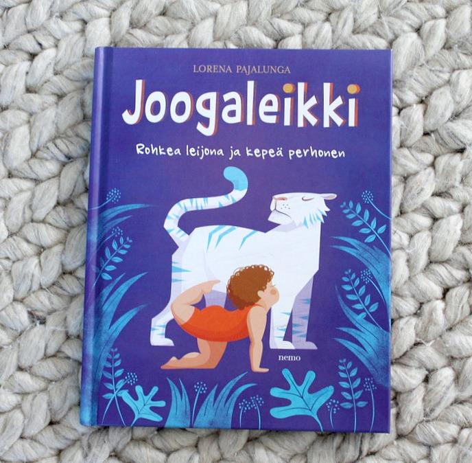Joogaa lapsille / Lasten Jooga / Joogaleikki