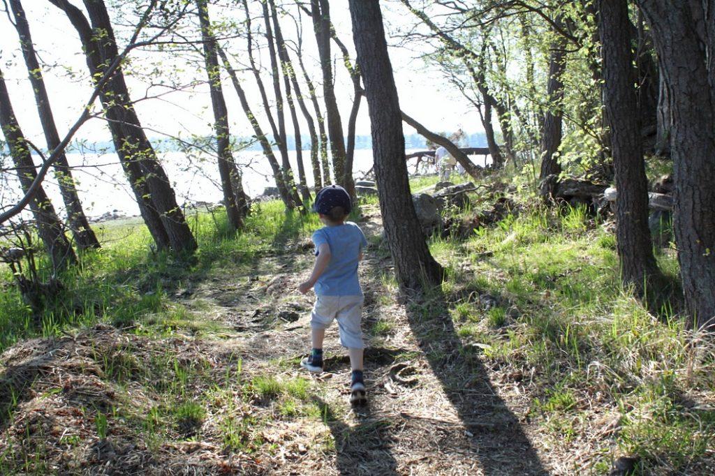 Retkellä lasten kanssa / Karhusaari Espoossa