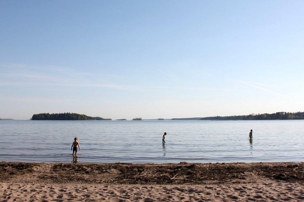Karhusaari / Uimaranta Espoossa
