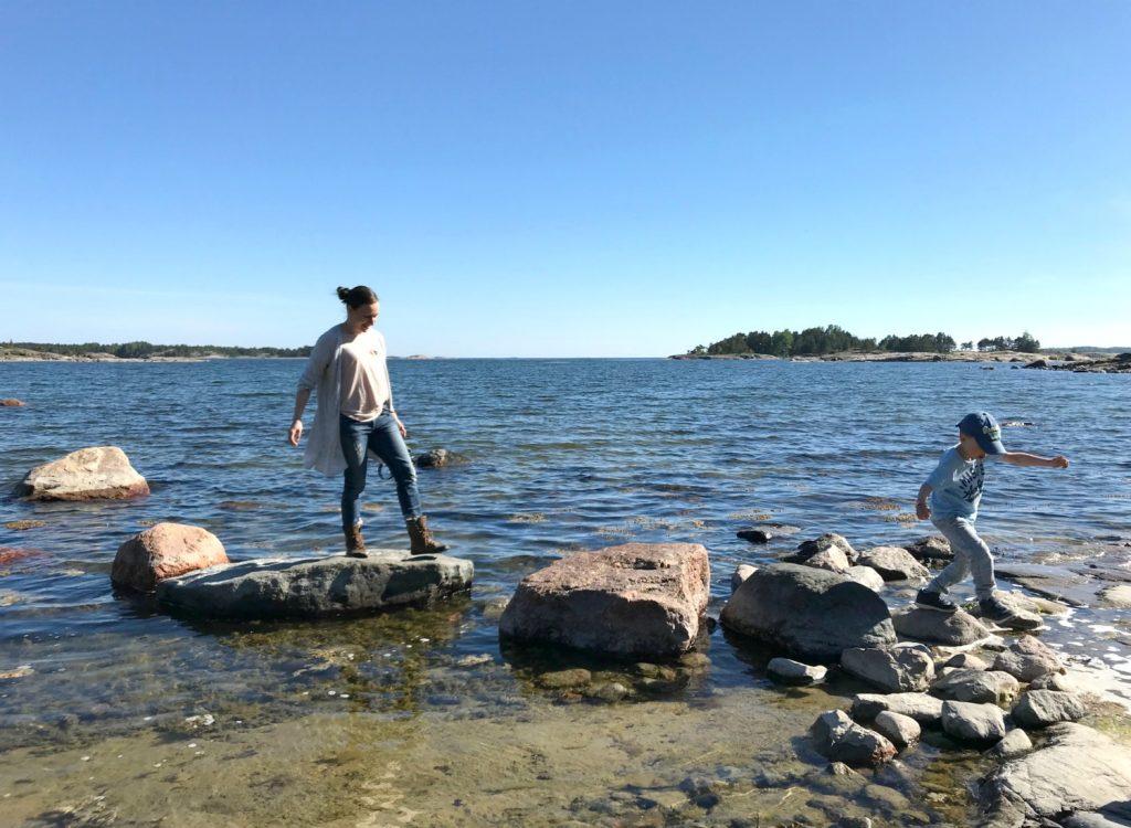 Kopparnäs / Rävberget / Telttaretki lasten kanssa