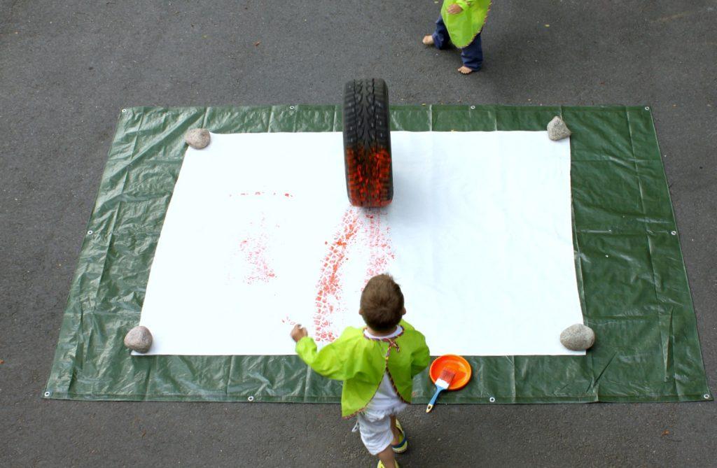 Kesätaide / Kesäpuuha / Rengasmaalaus