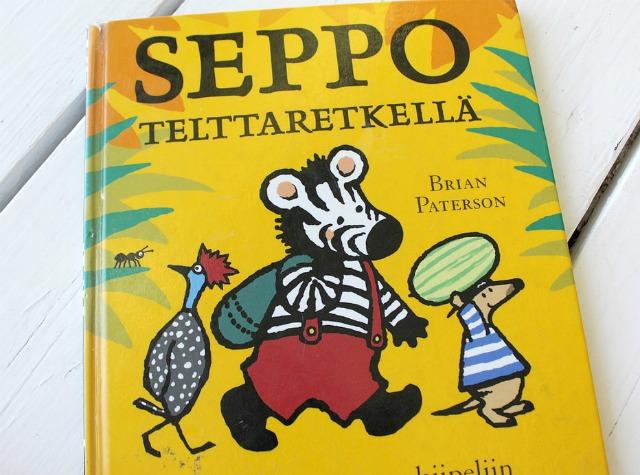Telttaretki / Seppo telttaretkellä