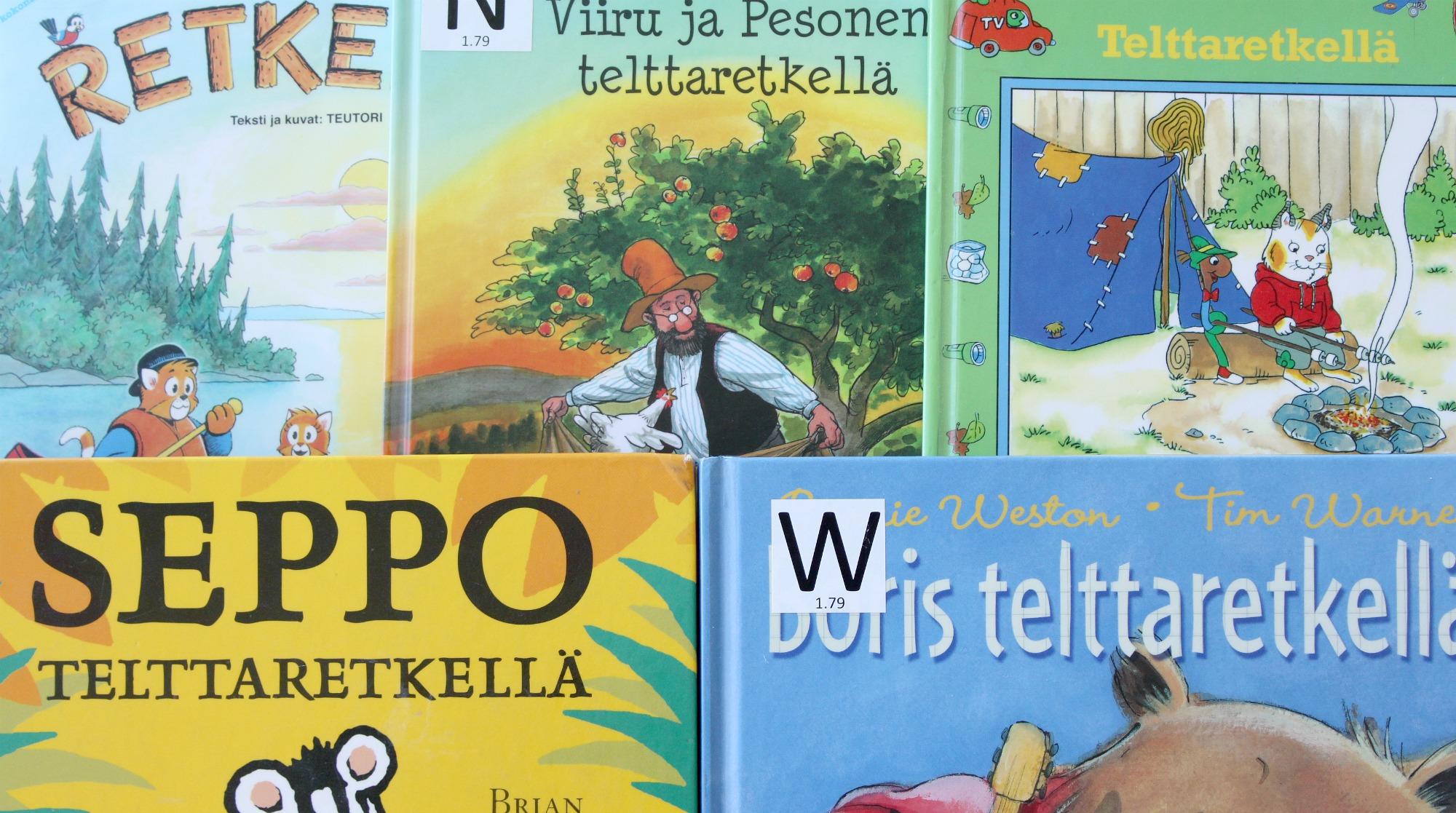 Telttaretki lasten kanssa / 5 lastenkirjaa