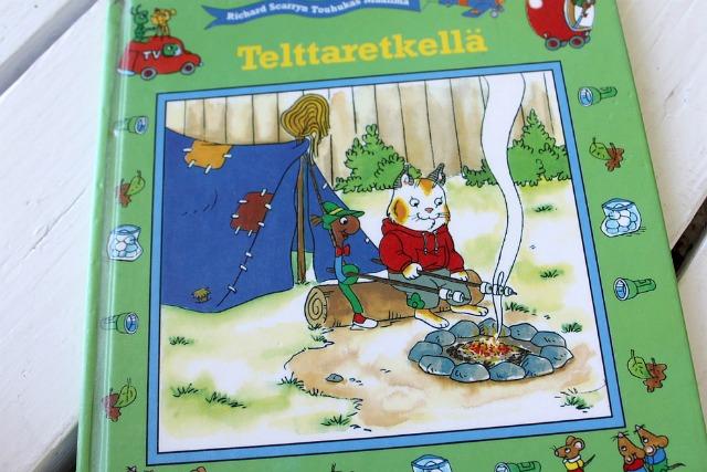 Telttaretki / Lastenkirja