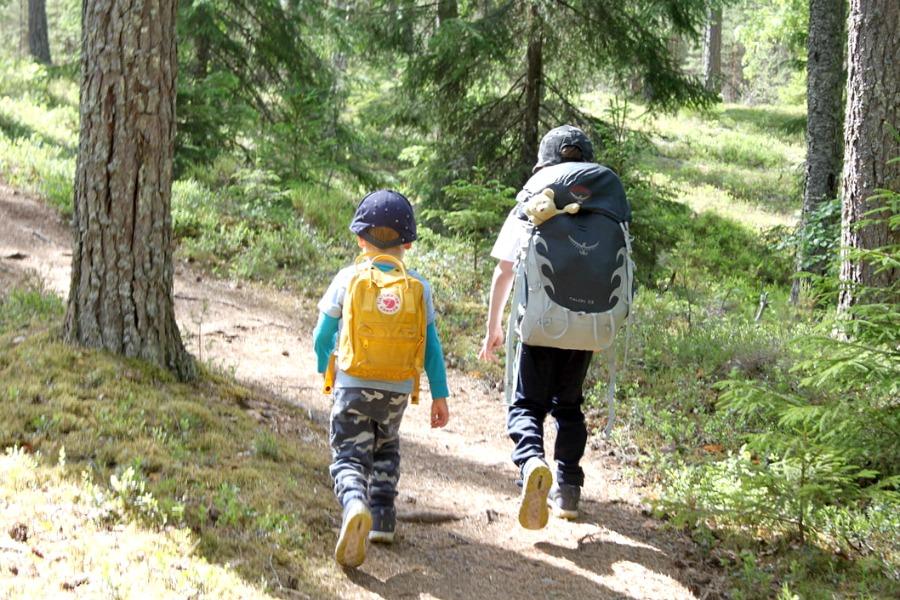 Iso-Melkutin / Telttaretki lasten kanssa